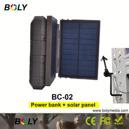 portable power bank solar panel UK - Boly hunting camera trail cameras caza accessories mobile power bank plus solar panel portable charger