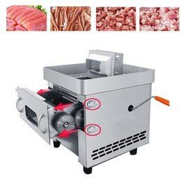 steel shredder machine UK - Newly launched household pull type fresh meat slicer stainless steel shredder for cutting meat and small vegetable cutting machine