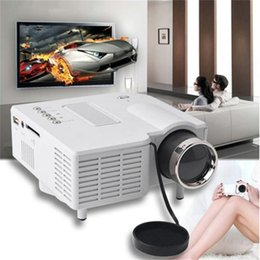 Laptop Hdmi Input Australia - Mini Pico Projector Home Cinema Theater Digital LED LCD Portable Projector Support PC&Laptop VGA USB SD AV HDMI Input Multimedia Projector