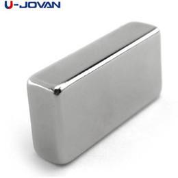 Super Blocks Australia - U-JOVAN 1pc Super Strong 40 x 20 x 10 mm Block Neodymium Magnet Rare Earth N35
