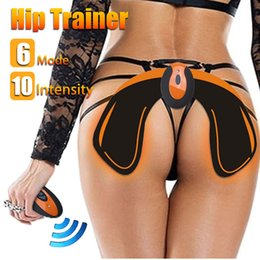 Lifts Buttocks Australia - Hip Trainer With Remote Controller Buttocks Lifting Waist Body Beauty Machine Rechargeable Beauty Massage Relaxation Machine c0019