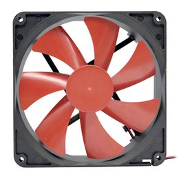 pc cooling fan Canada - Computer & Office GOOD F14025 140mm PC Case Cooler 4-Pin Connector Cooling Fan 12V Desktop Exhaust Fan for Computer Cooling System
