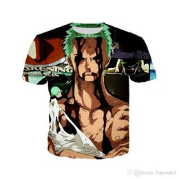 dragon ball z novelties Australia - t shirts for men One Piece Dragon Ball Z Naruto T-shirt Luffy Zoro Goku Black Kakashi Jiraiya 3D Printed Men Summer T shirts Tee Tops