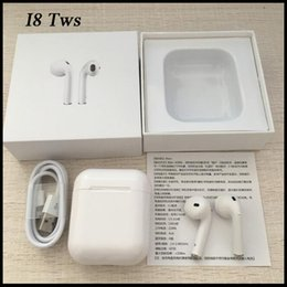 Twin Pack Australia - Wireless Bluetooth Headphones i8 TWS Twins Earphone Headset with Mic Stereo in ear 4.0version stereo music for iphone samsung with packing
