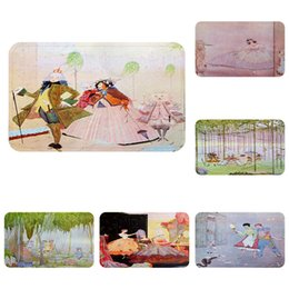 $enCountryForm.capitalKeyWord Australia - European Fairy Tales Cool Mat Bath Carpet Decorative Anti-Slip Mats Room Car Floor Bar Rugs Door Home Decor Gift
