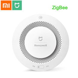 Fire Smoke Detector Alarm Australia - Xiaomi Mijia Fire Alarm Detector Photoelectric WiFi Smoke Detector Progressive Sound Smart APP Control Smart Home