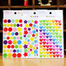 $enCountryForm.capitalKeyWord Australia - 2019 hOT Time-limited Real Adesivo De Parede Wall Stickers Colorful Rainbow Sticker Diary Planner Journal Scrapbook Albums Photo