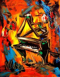 Wholesale piano print for sale – custom GRAND PIANO IMPRESSIONIST KAZAV GOYTYO Home Decor Handpainted HD Print Oil Painting On Canvas Wall Art Canvas Pictures