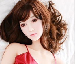 Sweet Japanese Real Sex Doll UK - High quality adult sex products inflatable rubber pussy women sex toys for men real silicone love doll with sweet voice