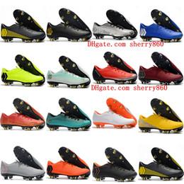 Neymar shoes New online shopping - 2019 new arrival mens soccer shoes Mercurial VaporX XII PRO SG soccer cleats Neymar football boots chuteiras cheap blue