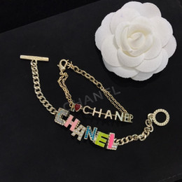 decorative easter plates 2019 - accessories clothes decorative jewelry Simple elegant style wild letter Pendant Chain bracelet gift women bracelets jewe