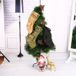 Magazine duMp pouch online shopping - Hanging Tactical Molle Christmas Stocking Bag Dump Drop Pouch Utility Storage Bag Combat Hunting Magazine Pouches