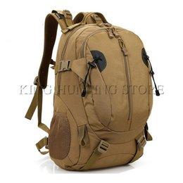 Toptan satış Erkekler 40L Taktik Askeri Çanta Dağcılık Yürüyüş Açık Kombinasyon Çanta Günü Sırt Çantası # 158963