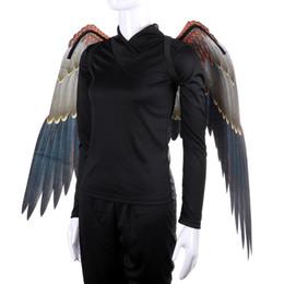 $enCountryForm.capitalKeyWord Australia - Mardi Gras Big Eagle Wings Costumes Non Woven Fabrics dark wings Adult Halloween decorations Fancy Dress Ball Costumes cosplayT2I5329