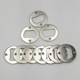 $enCountryForm.capitalKeyWord Australia - High quality and Thick DIY Metal round beer bottle opener accessories Factory wholesale
