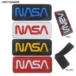 new style 656bc 9d2ec NASA logo Patch armband magic sticker clothing bag hat sticker patch 1. NZ 2.01  ...