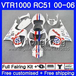 $enCountryForm.capitalKeyWord Australia - Kit For HONDA VTR1000 RC51 SP1 SP2 00 01 02 03 04 05 06 Blue R white 257HM.15 RTV1000 VTR 1000 2000 2001 2002 2003 2004 2005 2006 Fairing