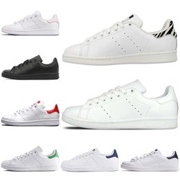 stan smith 45 2020 - Cheap Fashion Brand Lightweight Stan Smith Designers Casual Shoes Black White Navy Blue For Mens women Small White Shoes