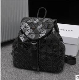 $enCountryForm.capitalKeyWord Australia - Female 2019 new laser stitching rubik's cube backpack geometric stitching diamond lattice bag student backpack 03