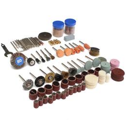 $enCountryForm.capitalKeyWord Australia - OriGinal 136Pcs Rotary Tool Accessories Bit Set Polishing Kits For Dremel New
