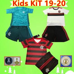 $enCountryForm.capitalKeyWord Canada - Kids kit Flamengo Soccer Jerseys Brazil 2019 2020 Boys suit uniforms #27 B.HENRIQUE DIEGO goalkeeper 19 20 children sets Camisa de futebol
