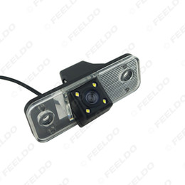 kia rear view camera NZ - Special Car Backup Rear View Camera With LED For Hyundai Santa Fe Azera Kia Carens Parking Camera #886
