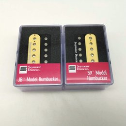 seymour duncan guitar Australia - Seymour Duncan Humbucker Pickup SH1n 59 And SH4 JB Model 4C Guitar Pickups Set Zebra   Black With packaging