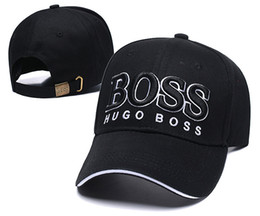 Chinese  Hot wholesale BOSS Top Quality 2019 Newest Casquette gorra Snapback Caps Adjustable Baseball Cap hip hop Hat Snap back bone Fashion dad hats manufacturers