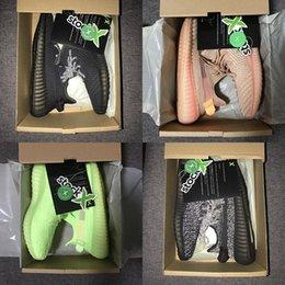 2019 adidas yeezy 350 V2 off white stock x shoes nuevas kanye xi zapatillas grises naranjas a rayas rayas crecer negro rojo color de calidad zapatillas de deporte de calidad 36-46 en venta
