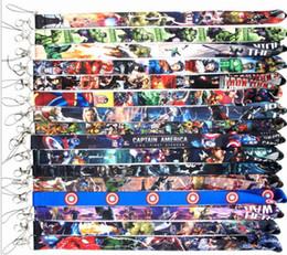 $enCountryForm.capitalKeyWord UK - 150 pcs Neck Lanyard ID Badge Key Holder Superhero Anime Characters Multi Selection
