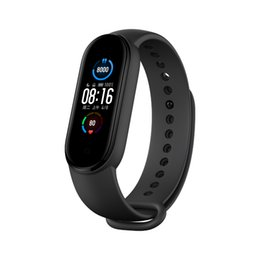 "Xiaomi Mi youpin originale Xiaomi Band 5 Bracelet intelligent mondial Version 1.1"" AMOLED écran Bluetooth 5.0 étanche Miband5 intelligent Wristband"