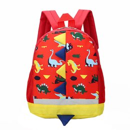 school bag straps 2019 - Boys Girls Rucksack Large Capacity Zipper Fashion Breathable Cartoon Children School Bags Adjustable Strap Student Backp