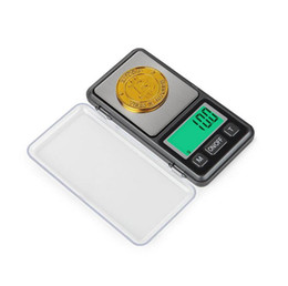 Coin Scale NZ - High Quality MINI Precision Electronic Digital Scales LCD display For Silver Coin Gold Diamond Jewelry Weight Balance 0.01g Kitchen Scales