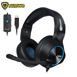 $enCountryForm.capitalKeyWord Australia - ortable Audio Video Earphones Headphones NUBWO N11 PC Gamer Gaming Headset Casque 7.1 Channel Sound Wired USB Earphone Headphones with Mi...