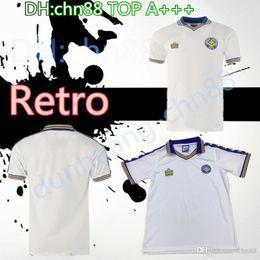 b96ef94c 1977 1978 Leeds United Retro version Soccer jerseys 1997 Leeds Home white  ROOFE BAMFORD ALIOSKI JANSSON Soccer Shirt football uniform