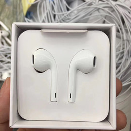 Headphones Original Box Australia - OEM high quality 7-generation 8p Earphone In Ear Earbuds headphone for iphone 7 8 xr xs max x With Mic and Volume Control With original box