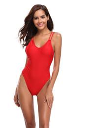 $enCountryForm.capitalKeyWord UK - Women's one-piece swimsuit red double straps one-piece sexy backless beachwear bikini