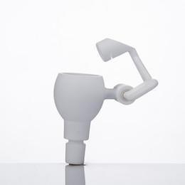 $enCountryForm.capitalKeyWord UK - Ceramic Honey Bucket 14mm & 18mm Male Female Joint Dab Rig Ceramic Swing Arm Hand Tool Oil Water Pipe Glass Bong 255