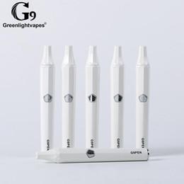 $enCountryForm.capitalKeyWord Australia - 100% original Greenlightvapes G9 Pen starter Kit 600mah Battery Built in 30W--40W TC Mod Ceramic coil Resistence 0.3ohm ECig wax vapors