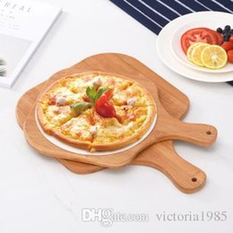 $enCountryForm.capitalKeyWord NZ - Round Shape Pizza Plate Miniature Cutting Board Cheese Board Double Sides Available wood Fruit Cake Tray Cooking Blocks Chopping Blocks