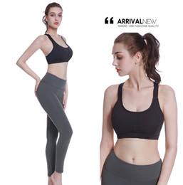 30a460520e Women Sport Bra Yoga Bra Fitness Women Padded Underwear Running Gym Push Up  Vest Wire Free Top Shakeproof Bralette Removable Pad