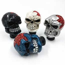 Skull Lever Australia - Car personality Skull manual automatic universal Gear Stick Shift Knob Lever