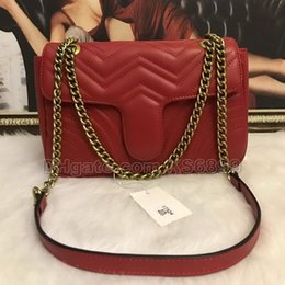$enCountryForm.capitalKeyWord Australia - New Arrival Marmont Shoulder Bags Women Chain Crossbody Bag Handbags New Designer Purse Female Leather Heart Style Message Bag #1732722