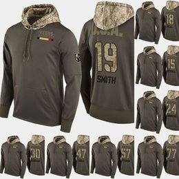 4578df9c63f Vegas Golden Knights Salute To Service Hoodies 15 Jon Merrill 77 Brad Hunt  92 Tomas Nosek 30 Malcolm Subban Hockey Sweatershirt Jerseys