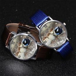 Watch Student Australia - luxury watch women quartz watches fashion Quartz Watch Men's Leather Strap Korean Lady Student Couple #p6