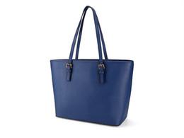 $enCountryForm.capitalKeyWord UK - Stylish Women's Large Size Handbag PU Leather bag Top-Zip Reticule Six Colors Drop Shipping Shoulder Bag
