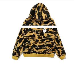 $enCountryForm.capitalKeyWord UK - Hot Sale Fashion Men's Jackets Brand Joint Ape Shark Mouth Hoodies Coat Long Sleeve Autumn Neck Hoodies Sport Casual Jackets For Men