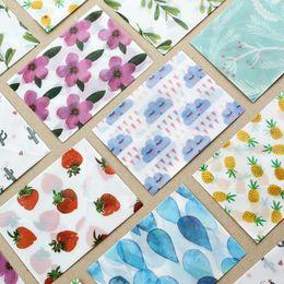 $enCountryForm.capitalKeyWord Australia - 3Pcs pack Flower Sulfuric Acid Paper Translucent Envelopes for Invitations Postcard Message Card Letter Envelope Stationery