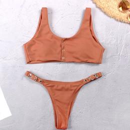 4dc30f03f84 Hot brazilian ladies online shopping - New Fashion Bikini Set Hot Sexy Hasp  Swimwear Women Brazilian