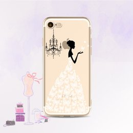 silicon laces Australia - 3D Case Cover For iphone Lace Plant Flower Panda Ballet Girl Cute Soft Silicon Phone Fundas For iphone Ypf31-27